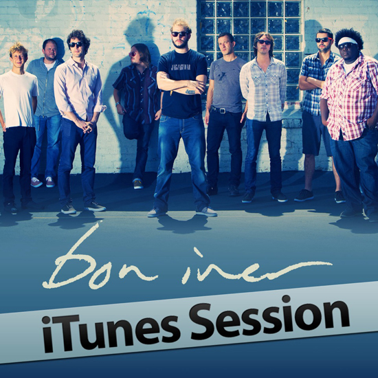 Bon Iver iTunes Session cover art