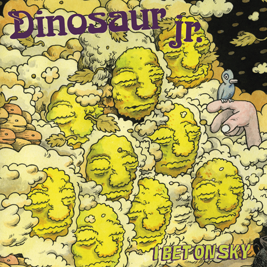 Dinosaur Jr. I Bet On Sky cover art