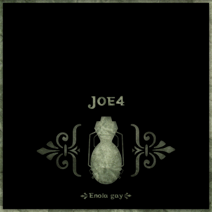 Joe 4 Enola Gay EP cover art