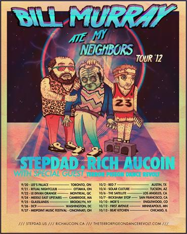 Stepdad Bill Murray Tour