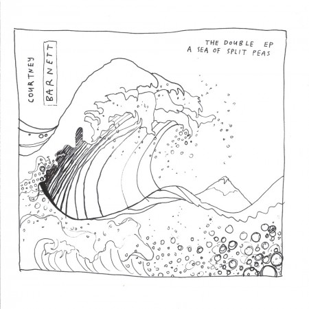 Courtney Barnett The Double EP a sea of split peas