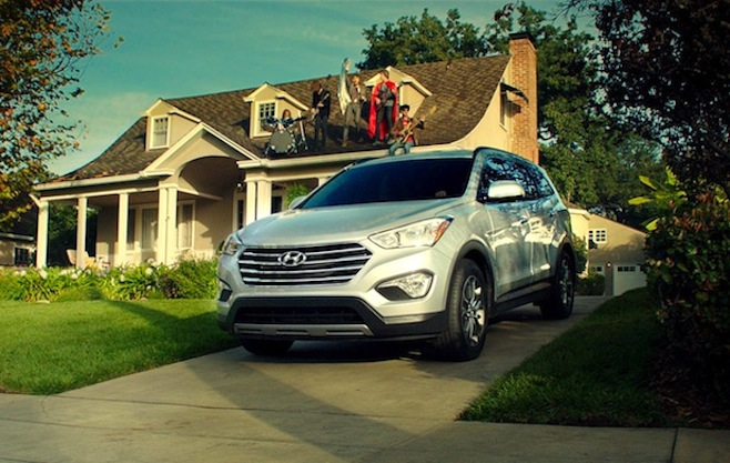 Flaming Lips Hyundai ad