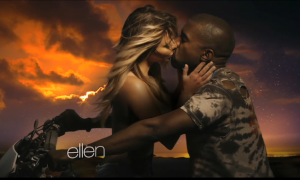 Kanye West Bound 2 Video ellen