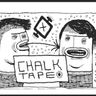 Screaming Females Chalk Tape